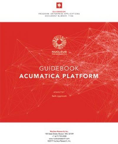 Acumatica Platform Guidebook