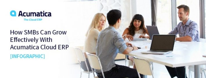 How SMBs Can Grow Effectively With Acumatica Cloud ERP [Infographic]