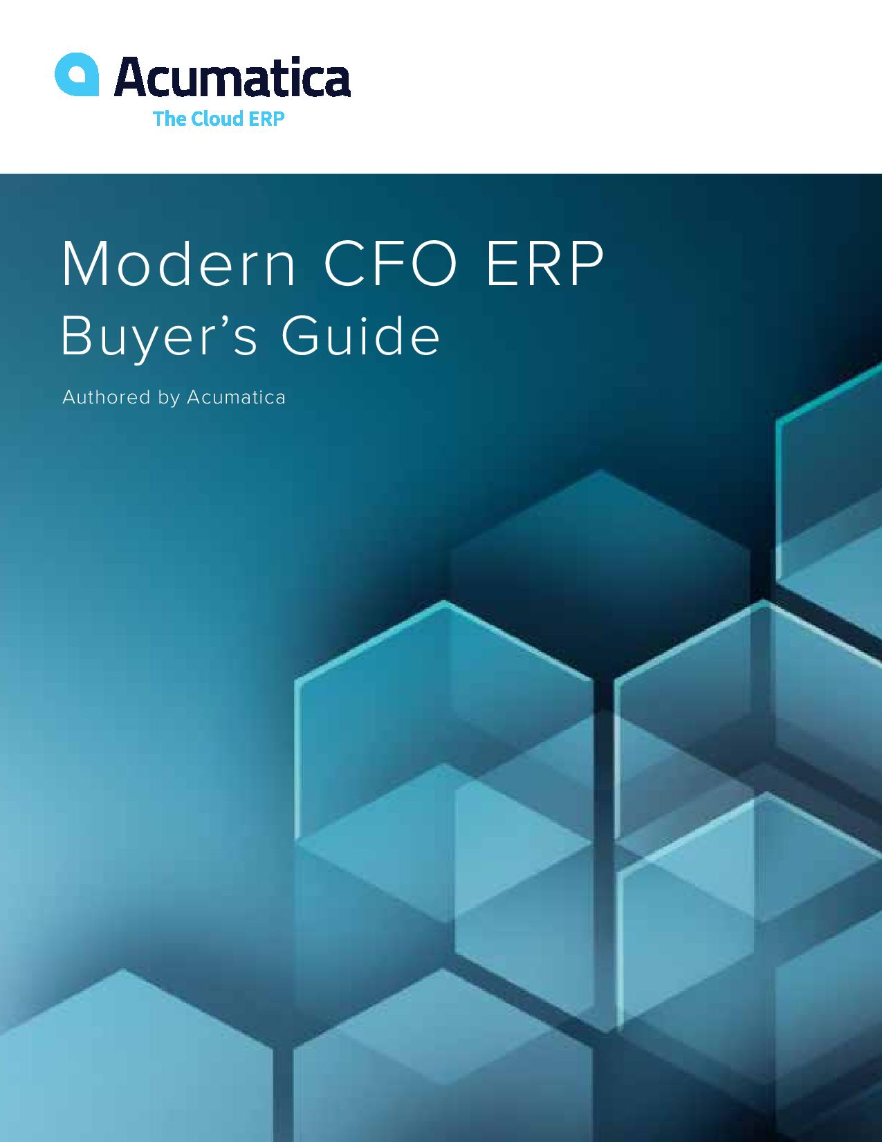 CFOs: Find the Right ERP Accounting Solution Faster, page 0