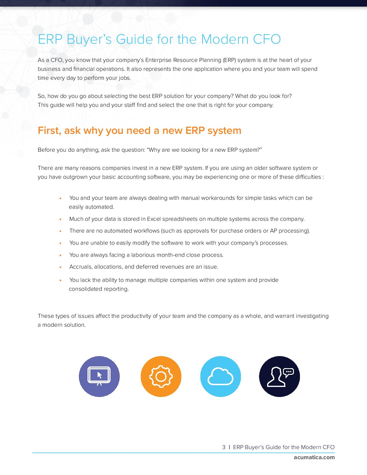 CFOs: Find the Right ERP Accounting Solution Faster, page 2