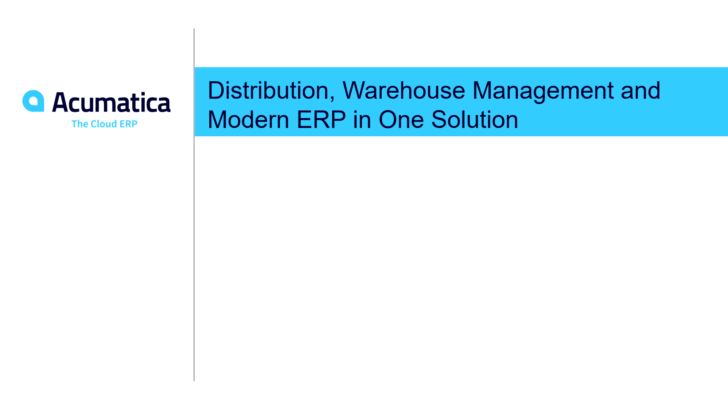 Distribution, Warehouse Management and Modern ERP in One Solution