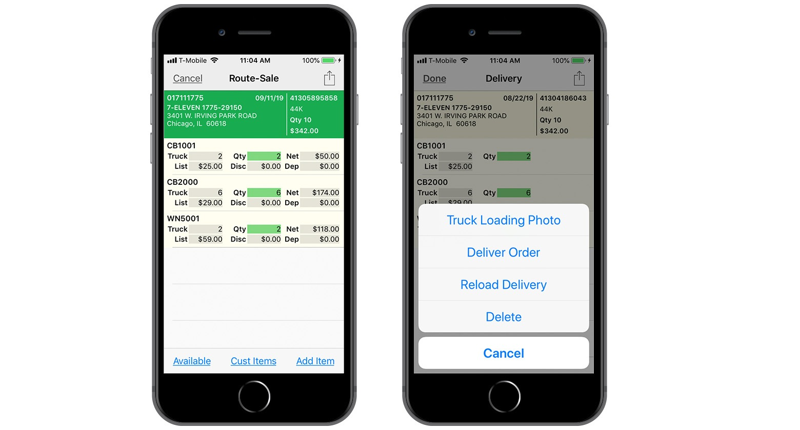xkzero-mobile-commerce-route-sale-delivery-screens