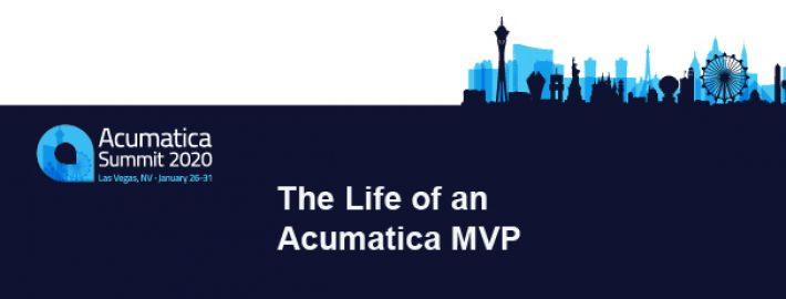 The Life of an Acumatica MVP