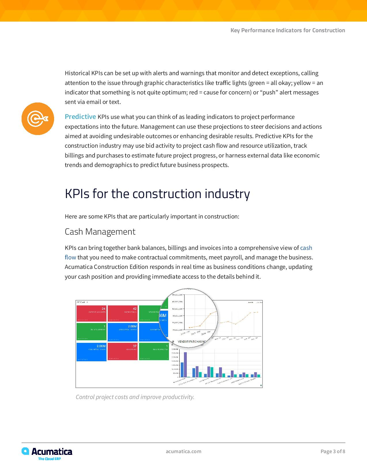 Construction KPI Dashboard: Can Your Software Do This?, page 2