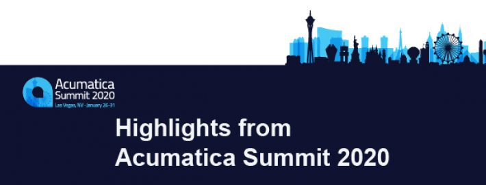 Highlights from Acumatica Summit 2020