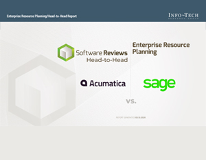 ERP Head to Head Report: Acumatica vs. Sage