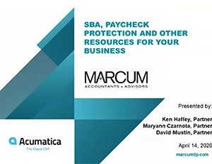 SBA, Paycheck Protection, and Other Resources for Your Business