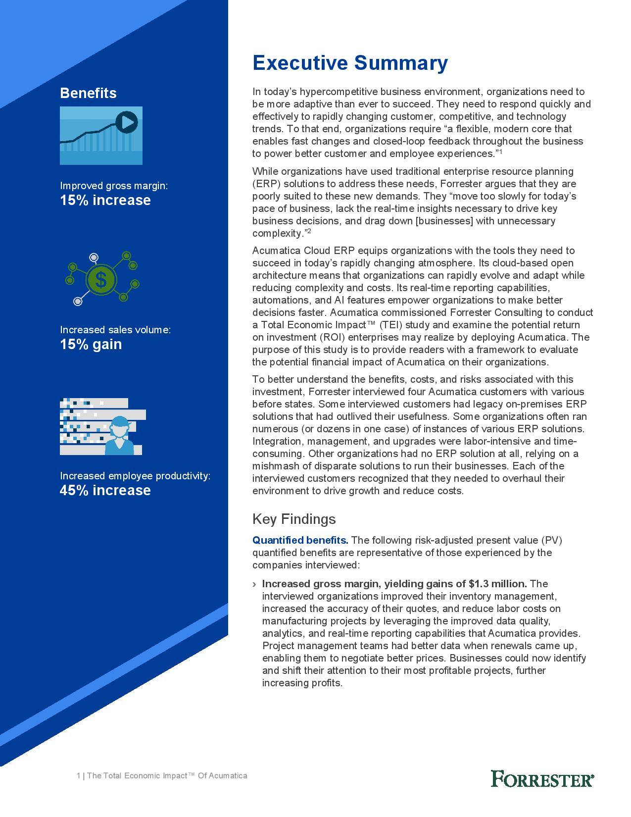 Discover the Financial and Business Benefits of Cloud ERP Adoption, page 2