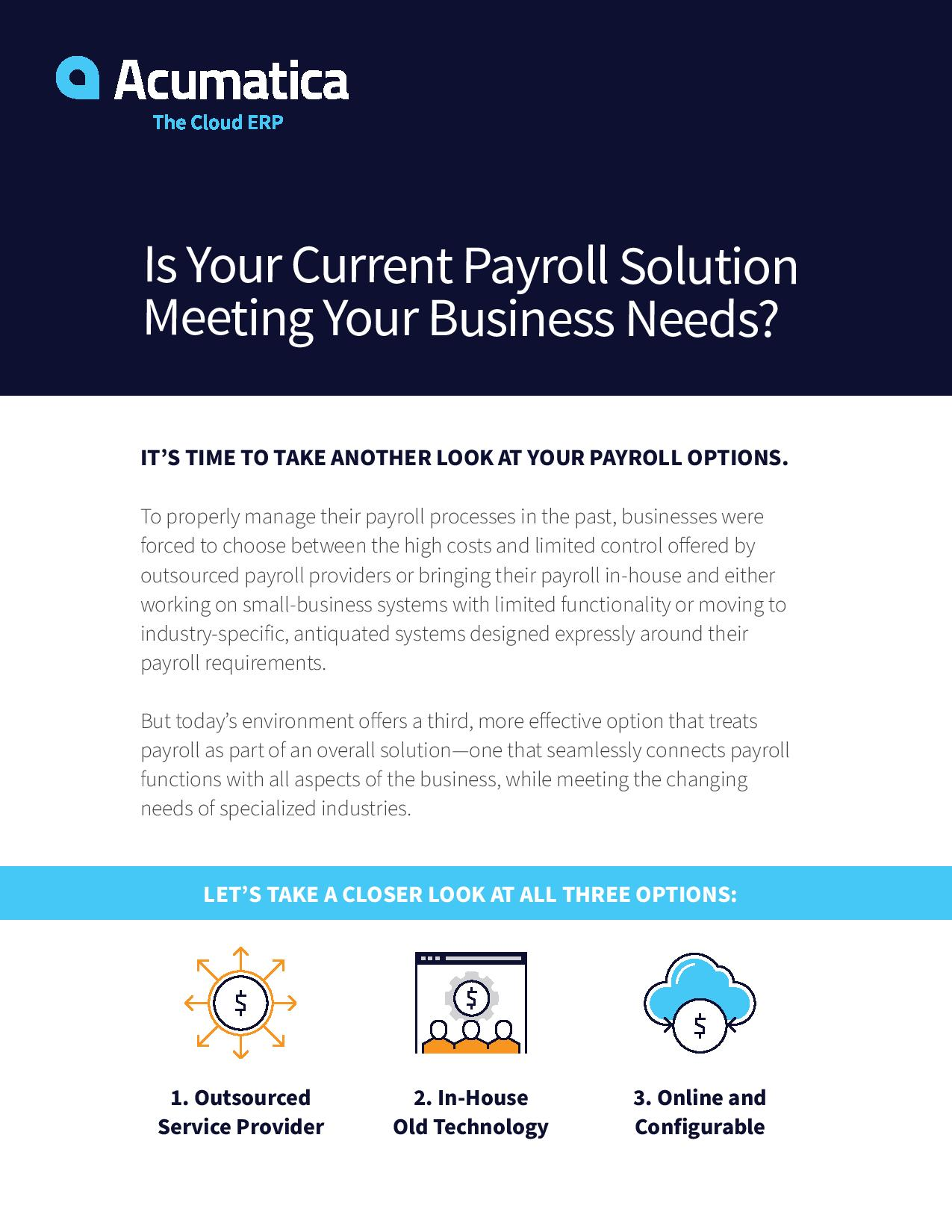 Seamless Payroll Solutions: Take Another Look at Your Options, page 0