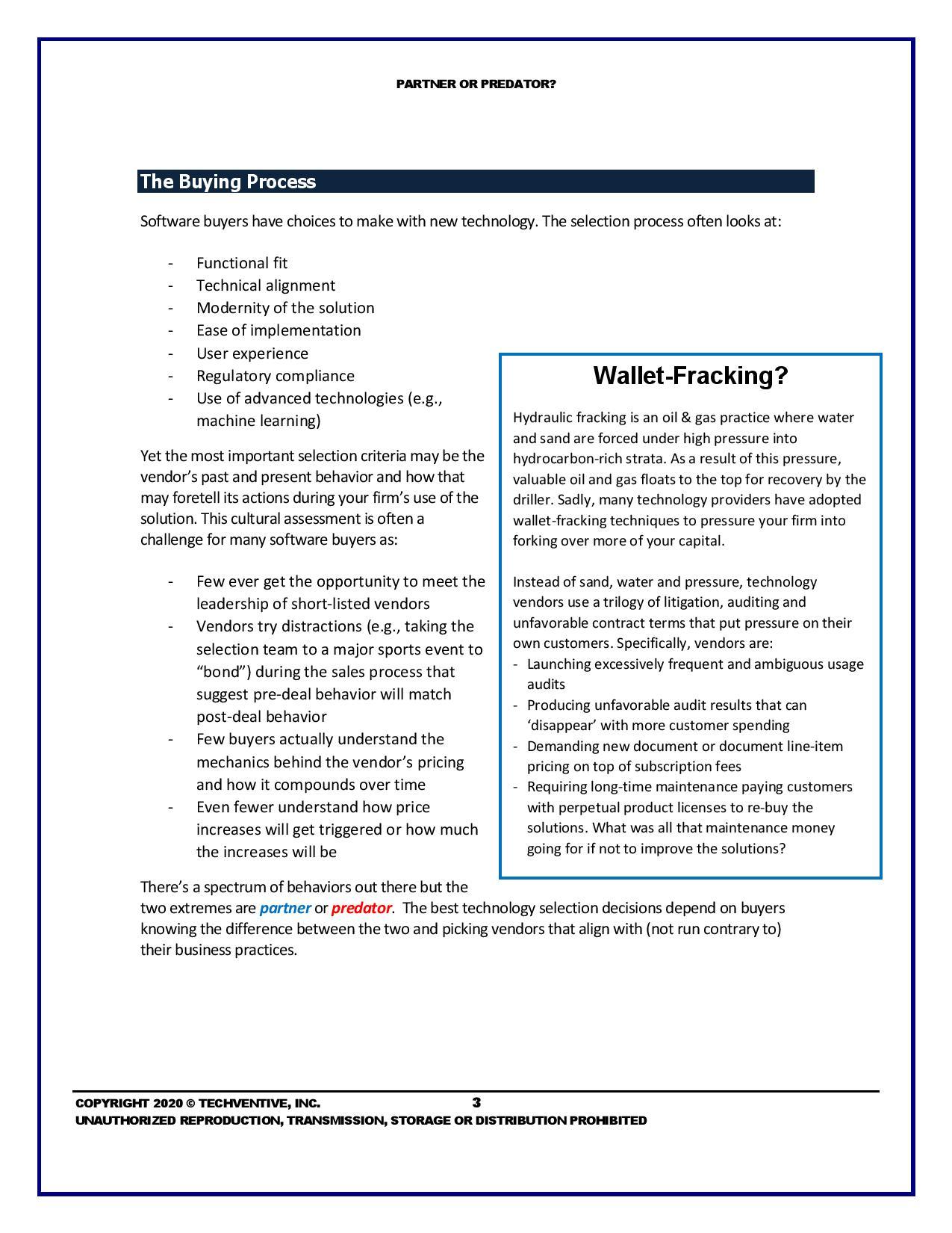 ERP Vendor Selection: Find a Partner, Not a Predator, page 2