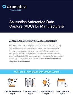 Automated Data Capture for Manufacturers