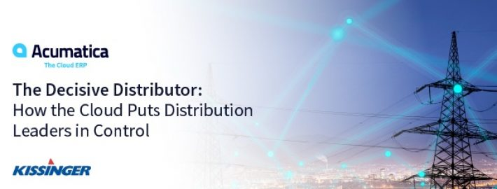 The Decisive Distributor: How the Cloud Puts Distribution Leaders in Control