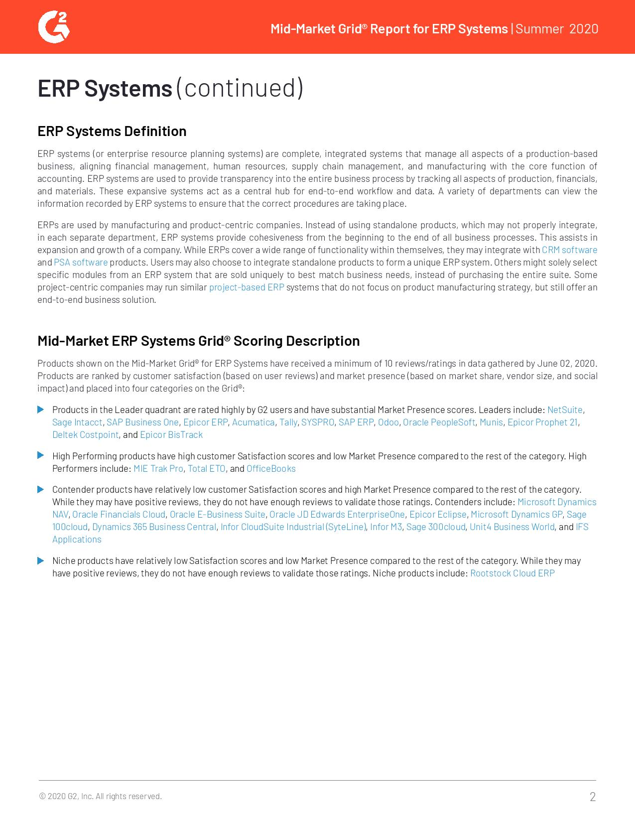 Mid-Market ERP Solutions: Which One Is Best for Your Business?, page 0