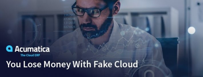You Lose Money With Fake Cloud