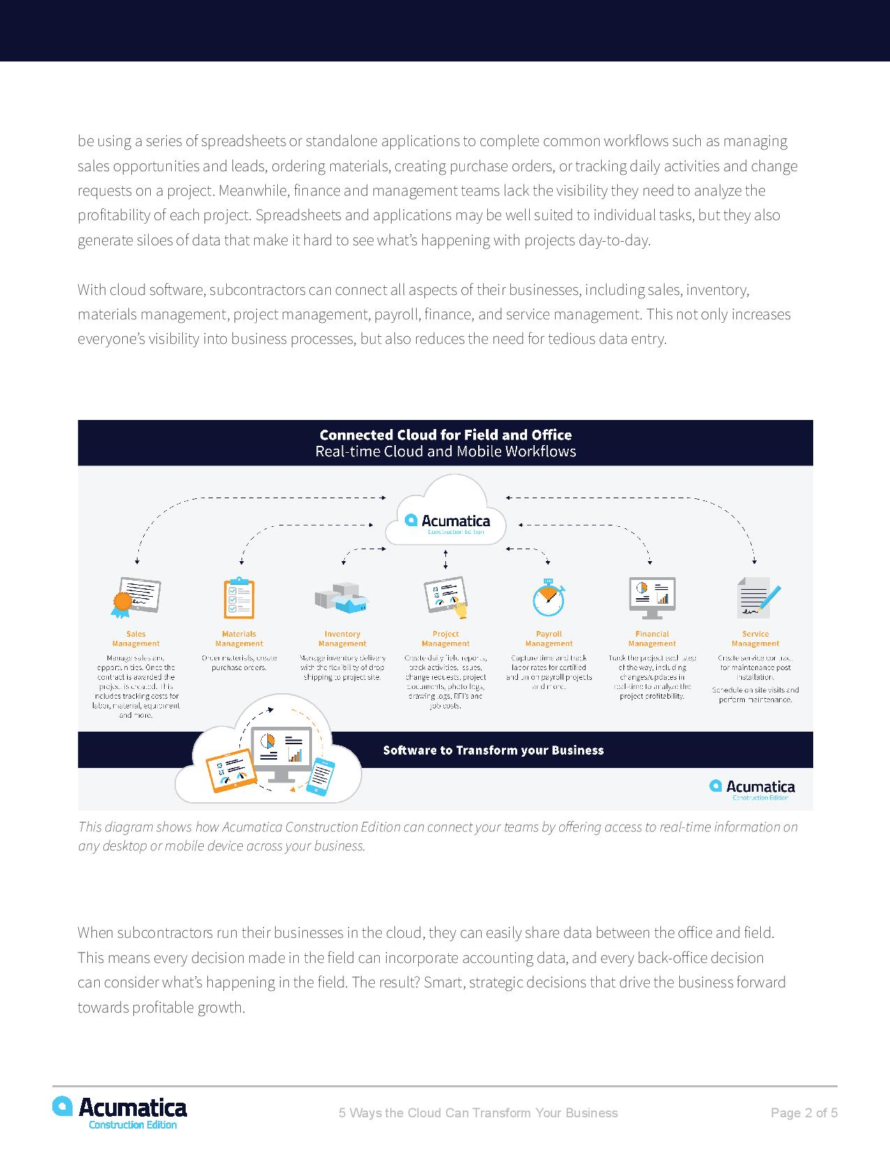 How Cloud Construction and Accounting Software Can Transform Your Business, page 1