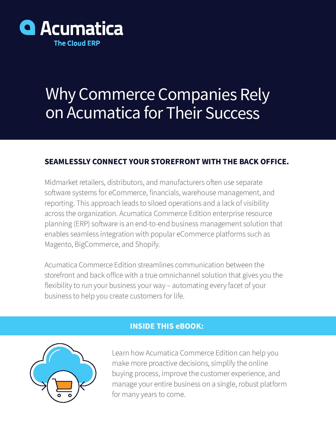 How Can the Acumatica eCommerce Platform Help Your Online Business Grow?, page 0