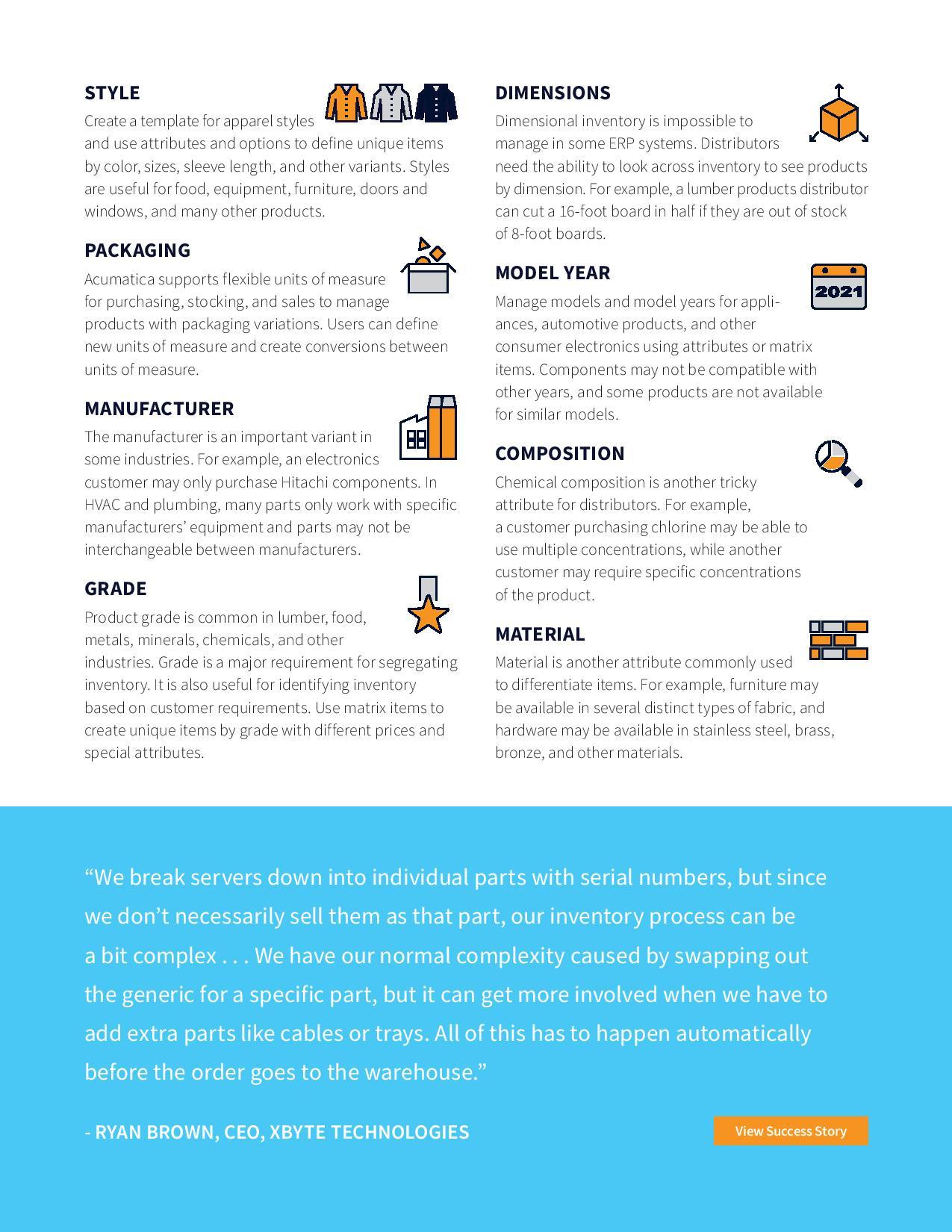 Faster, Easier Item Management for Distributors, page 2