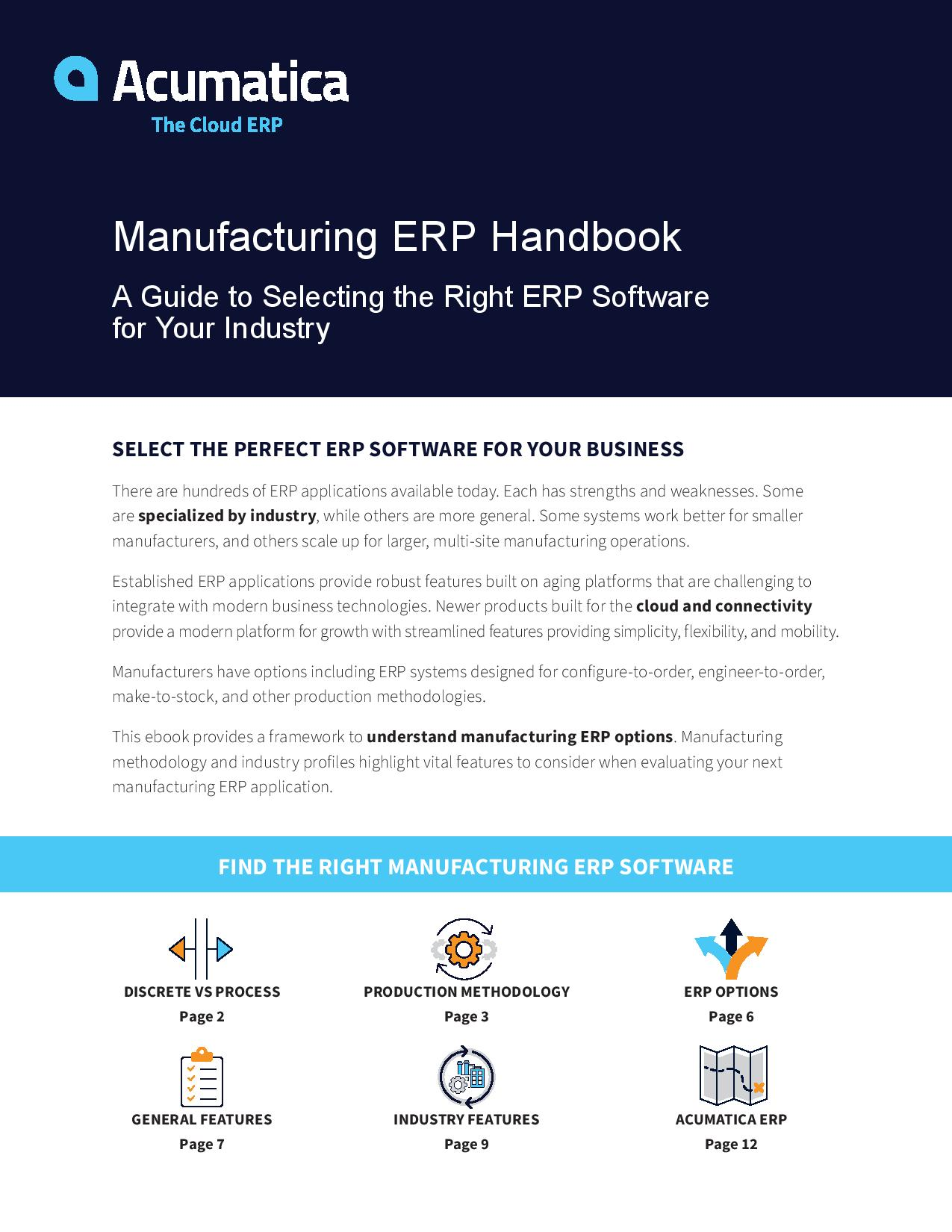 The Manufacturing ERP Guide, page 0