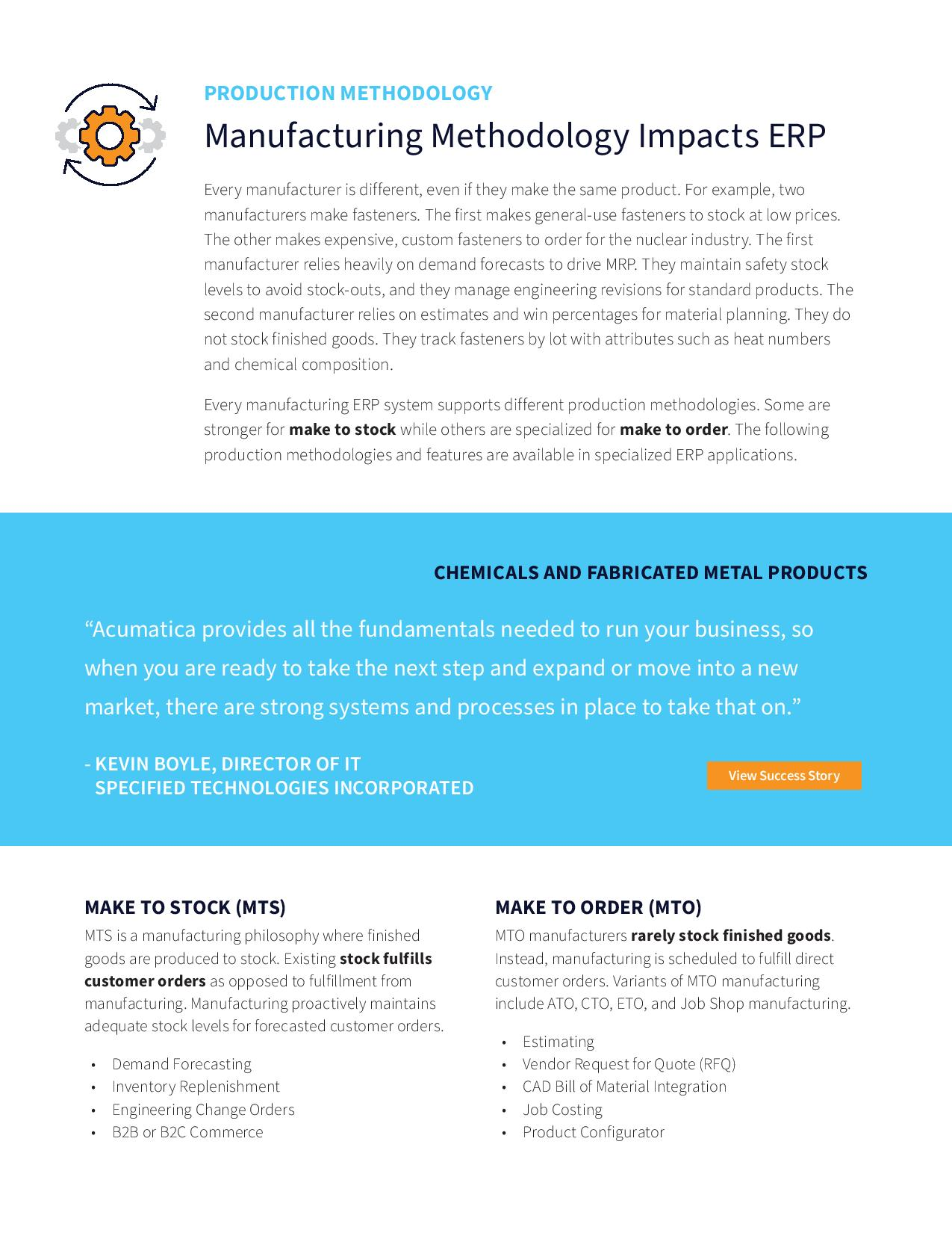 The Manufacturing ERP Guide, page 2