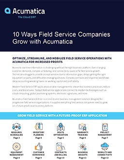 Optimize Field Service Operations—and Grow Your Business