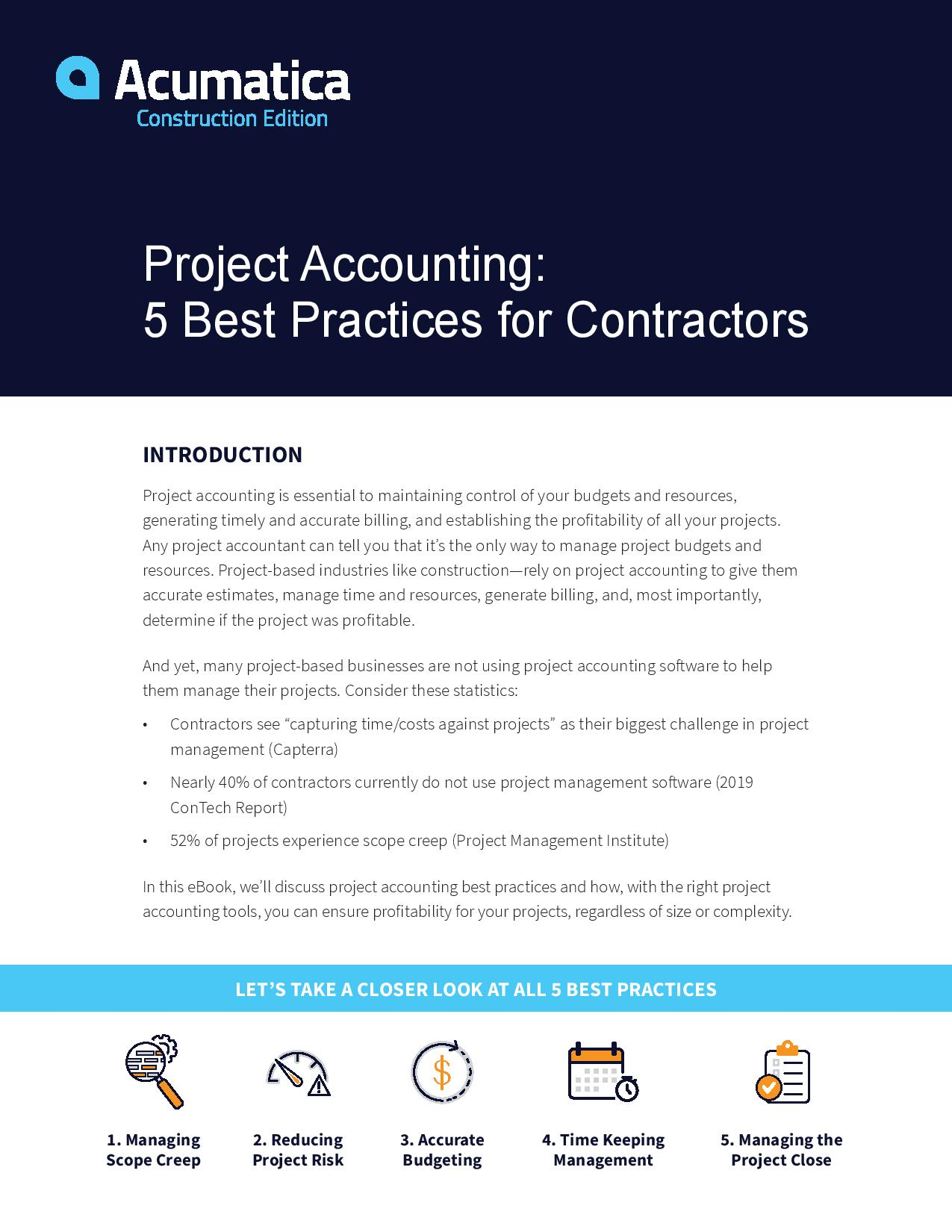 Project Accounting Best Practices Made Simple, page 0