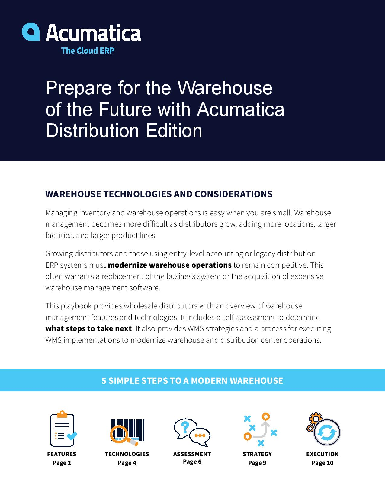 Planning a Modern Warehouse? Here's Your Playbook., page 0