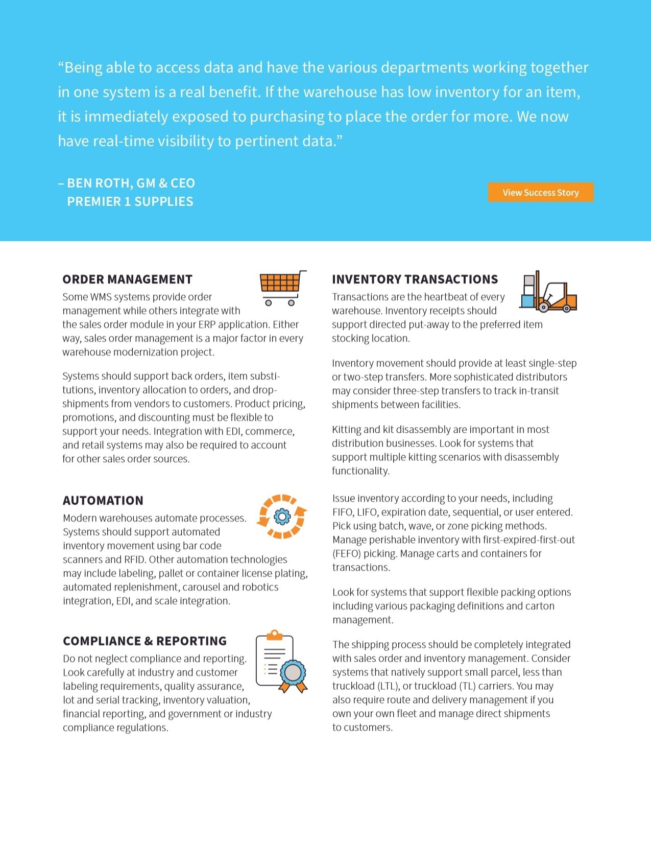 Planning a Modern Warehouse? Here's Your Playbook., page 2