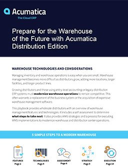 Planning a Modern Warehouse? Here's Your Playbook.