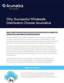 Why Successful Wholesale Distributors Choose Acumatica
