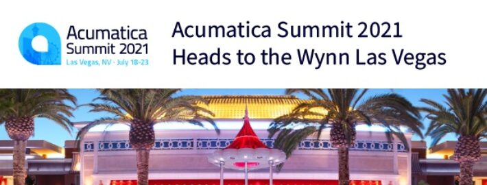 Acumatica Summit 2021 Heads to the Wynn Las Vegas