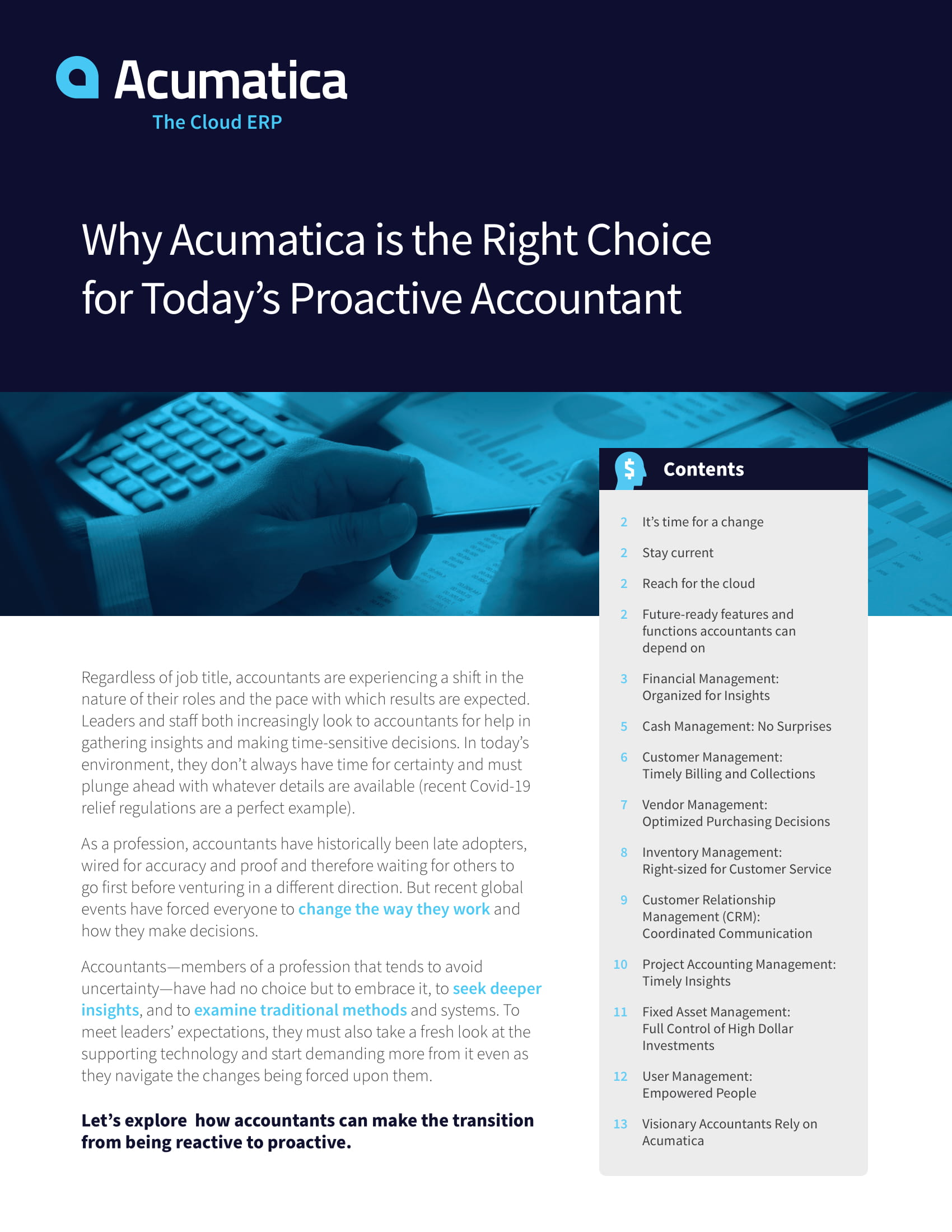 Become a Proactive Accountant with Cloud ERP, page 0