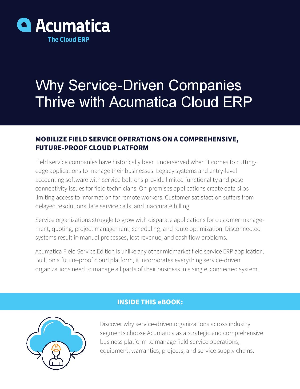 Mobile Field Service ERP: Find Your Ideal Solution, page 0