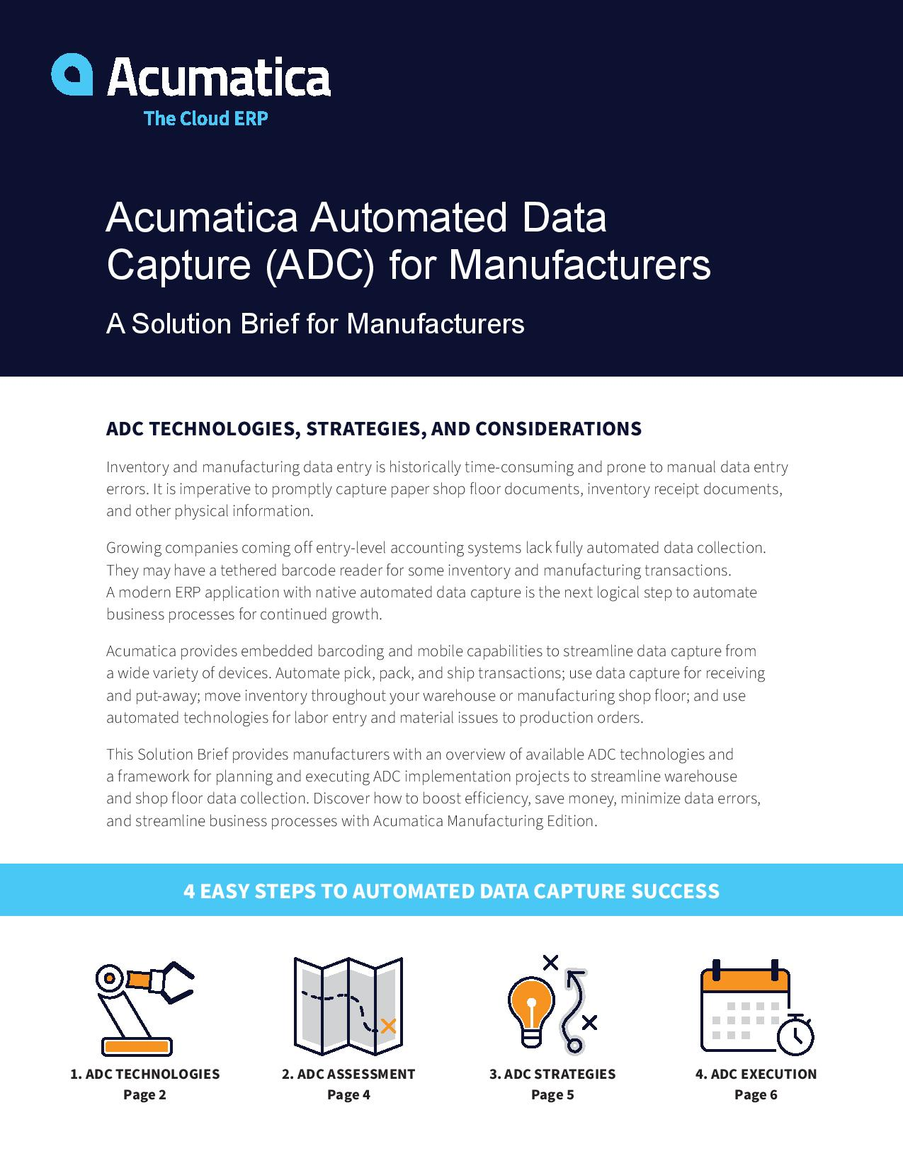 What Every Manufacturer Should Know About Automated Data Capture, page 0