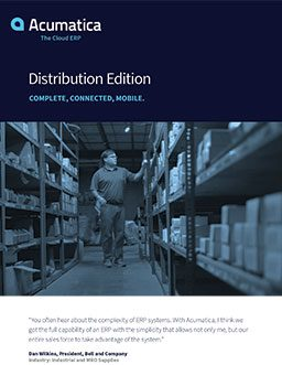 Distribution ERP: Find the Best Blend of Functionality and Simplicity