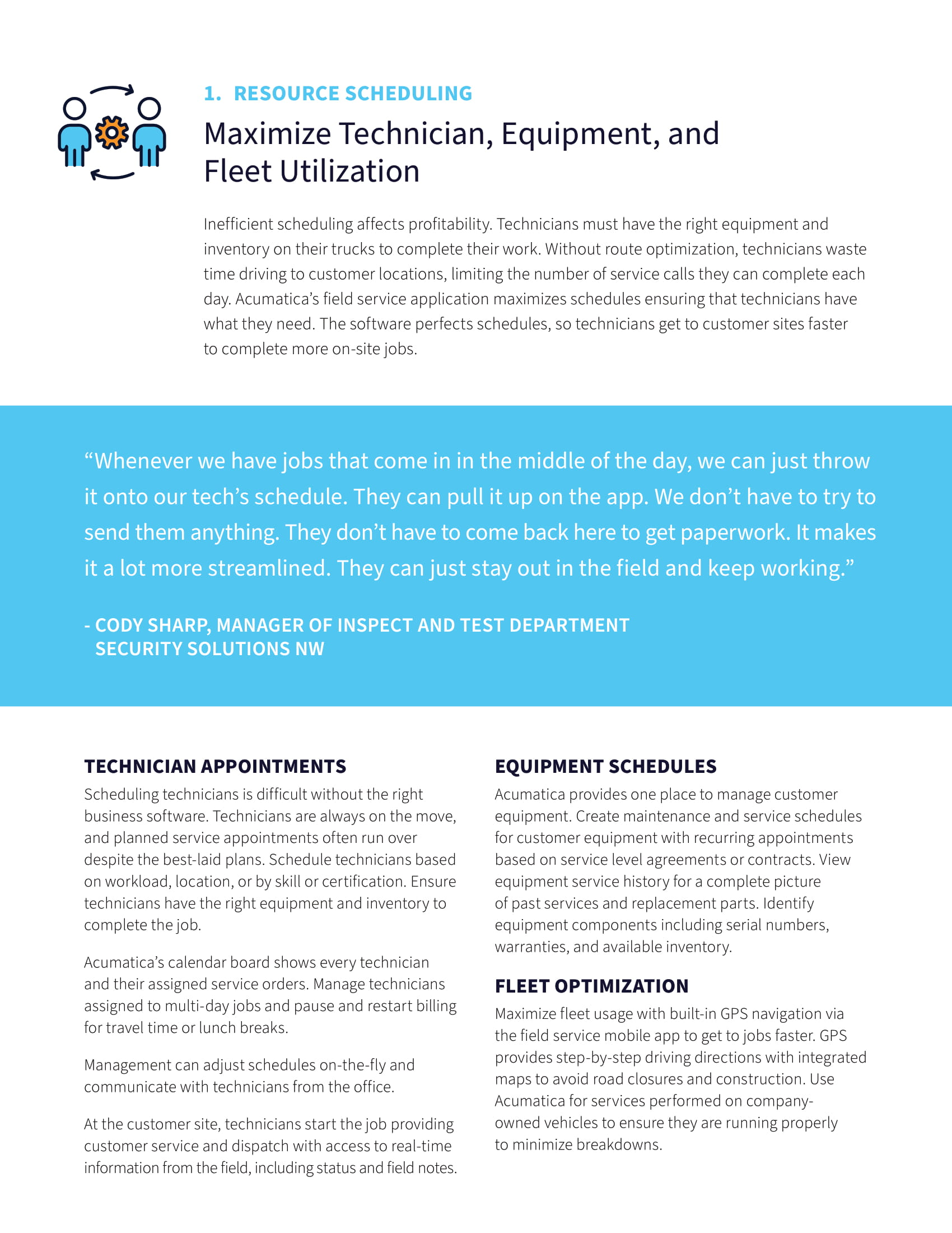 Optimize Field Service Operations—and Grow Your Business, page 2