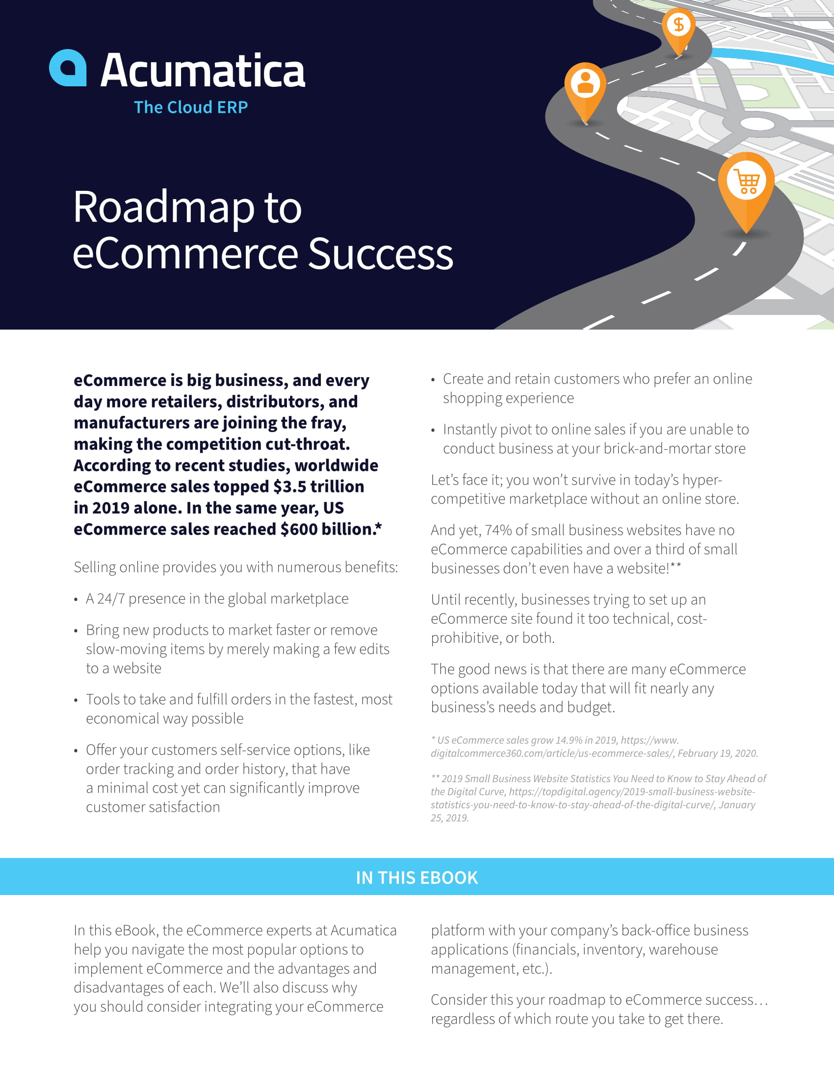 Roadmap to eCommerce Success: How to Thrive Online, page 0