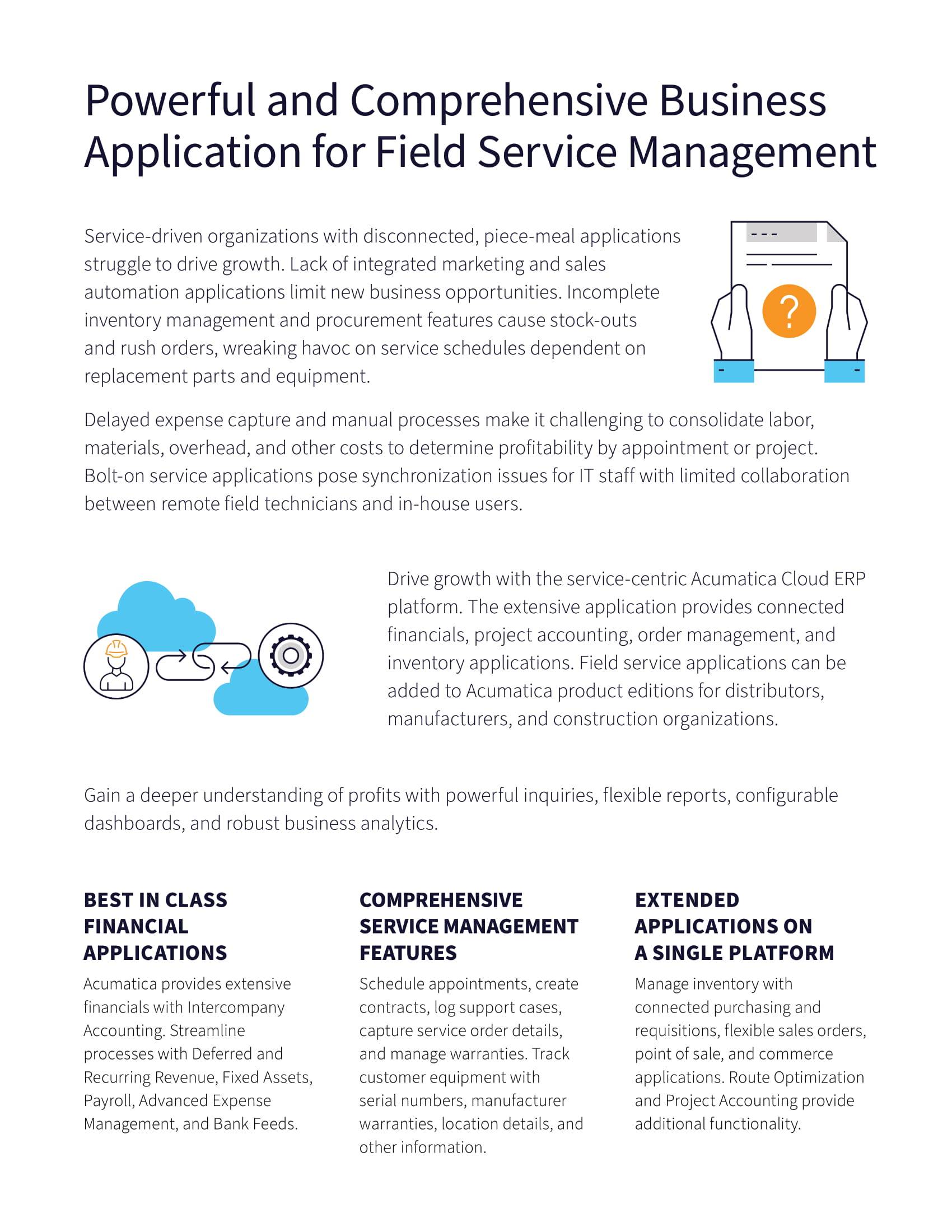 Mobile Field Service ERP: Find Your Ideal Solution, page 1