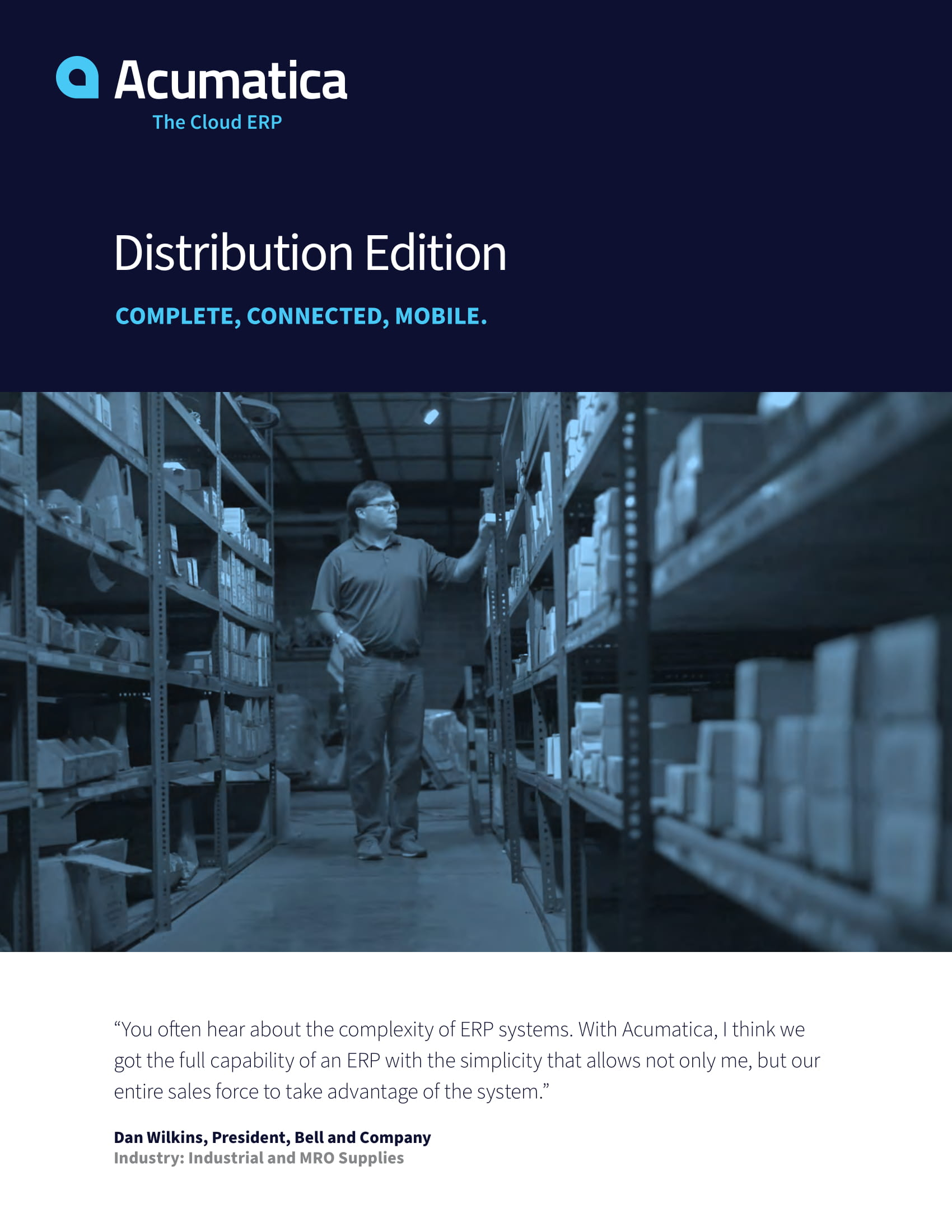 Distribution ERP: Find the Best Blend of Functionality and Simplicity, page 0