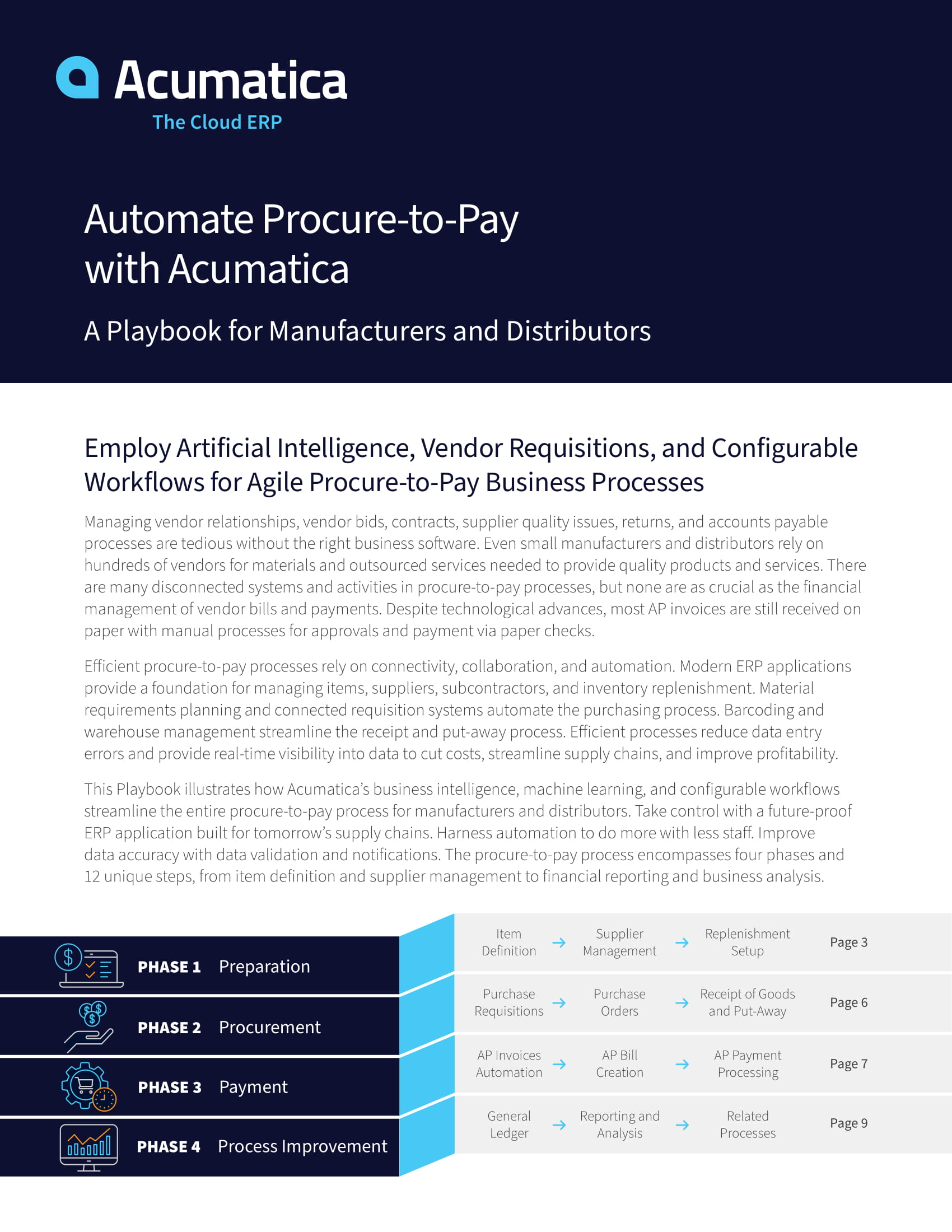 Using Cloud ERP for Procure-to-Pay Automation