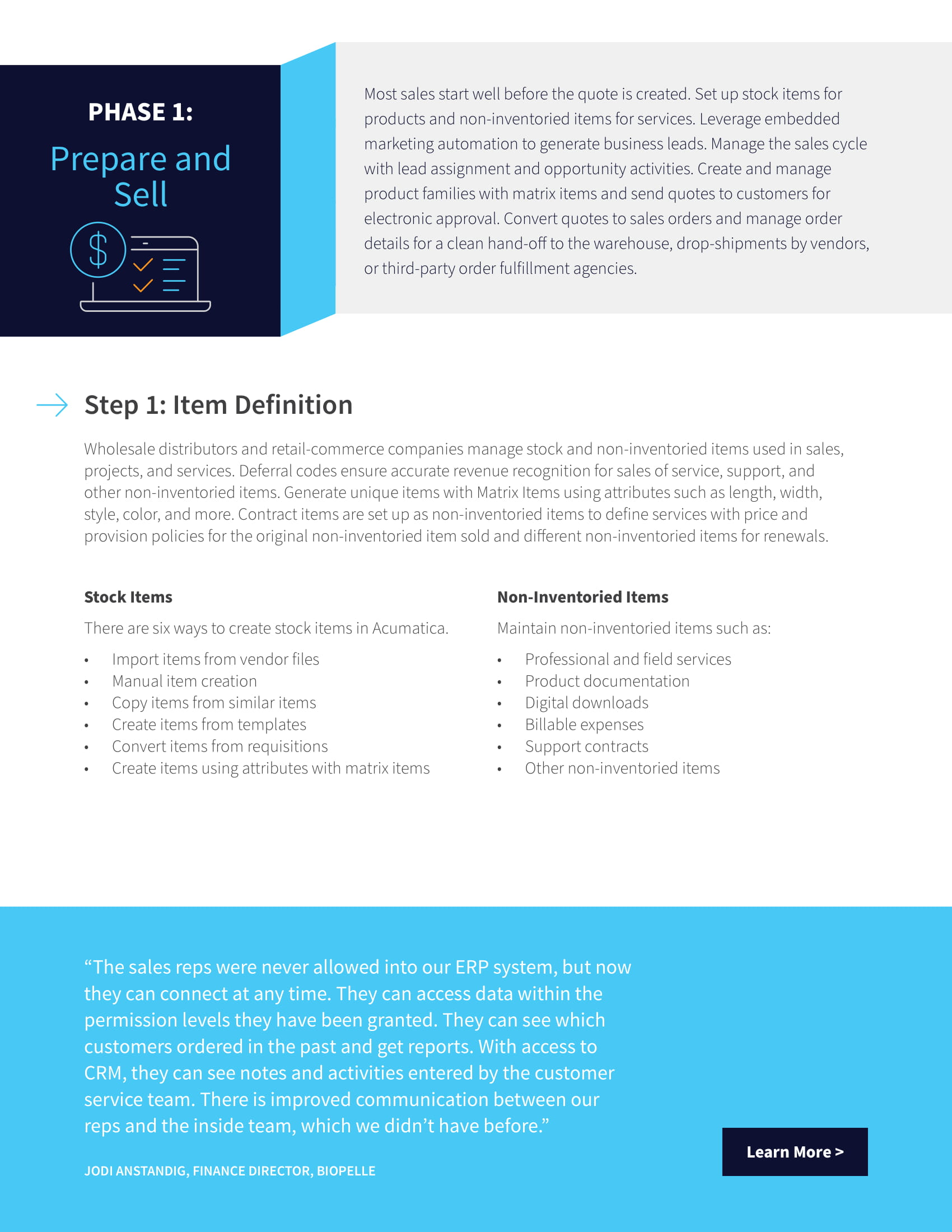 Perfecting the Q2C Cycle for Distributors and Retail-Commerce Companies, page 1