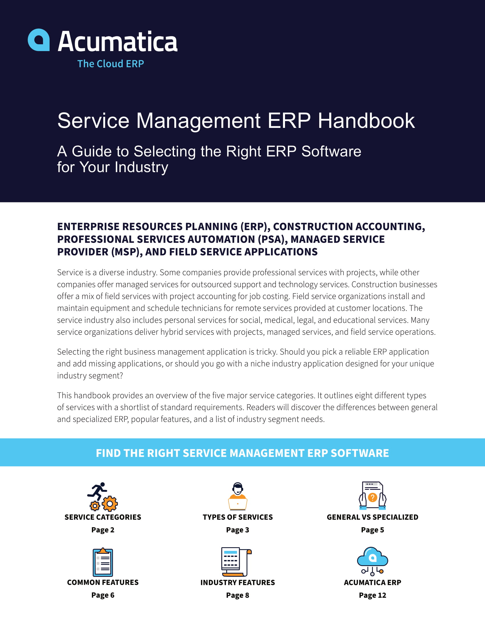 Better Service Management ERP Software