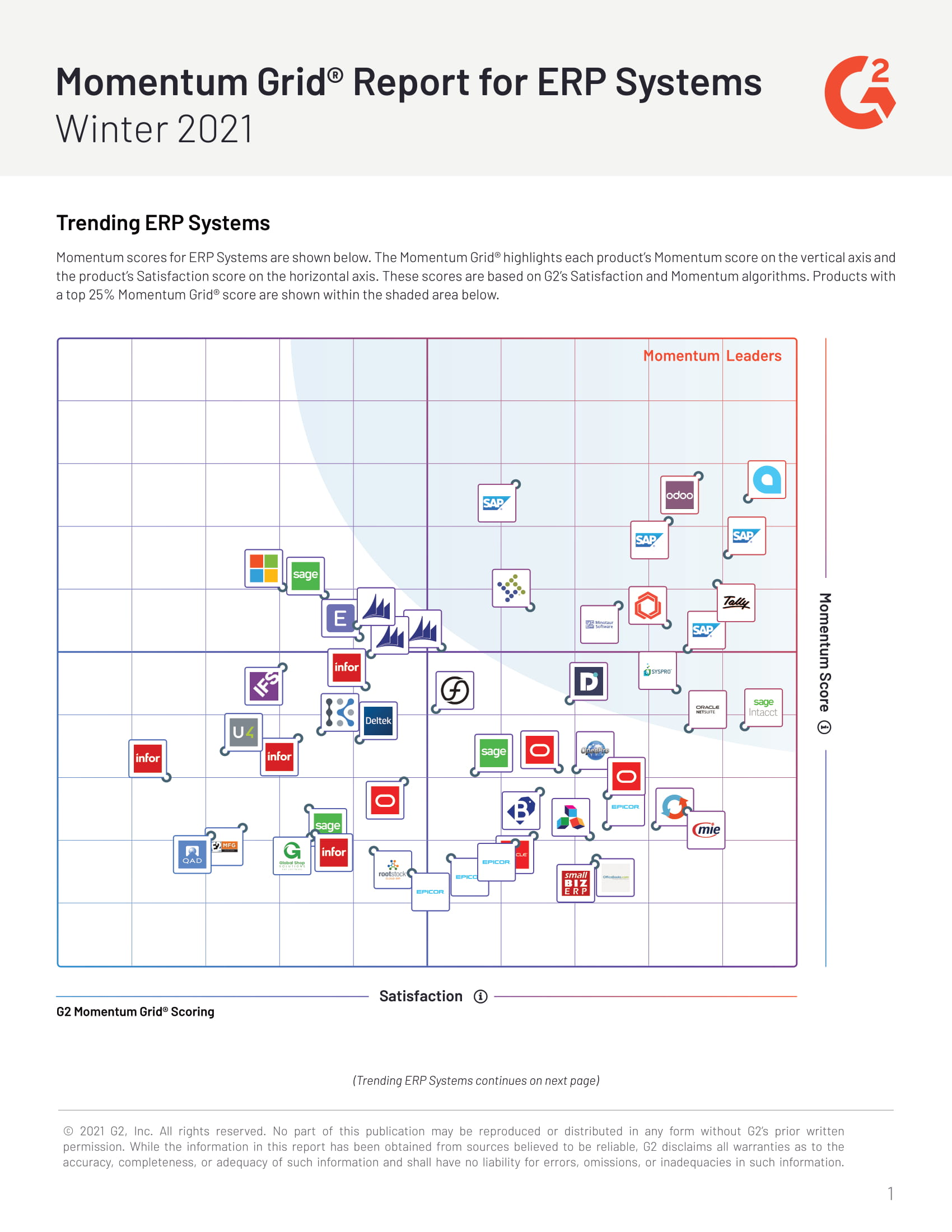 ERP Leaders Side-by-Side: Which Vendor Is Best for Your Business?, page 0