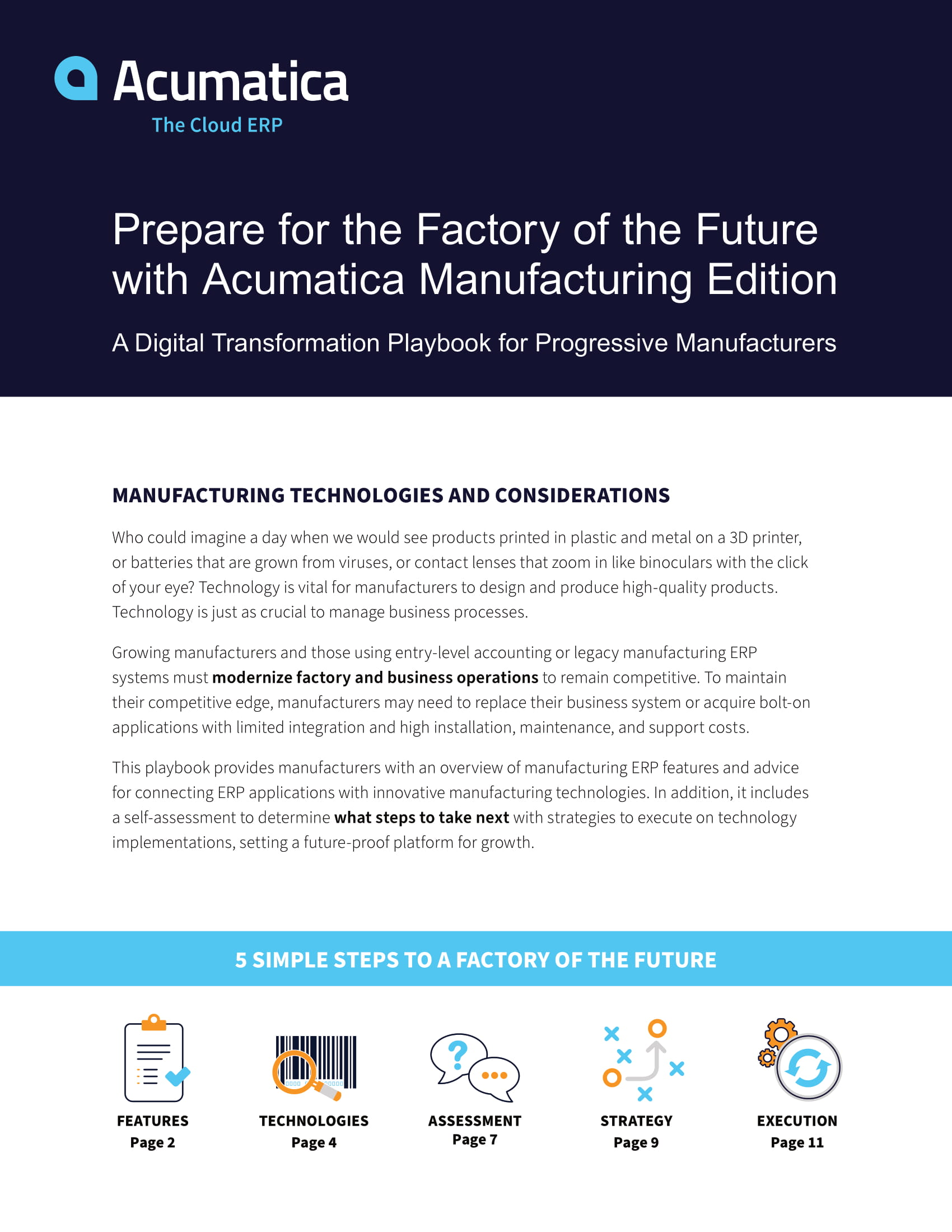 Build Your Factory of the Future
