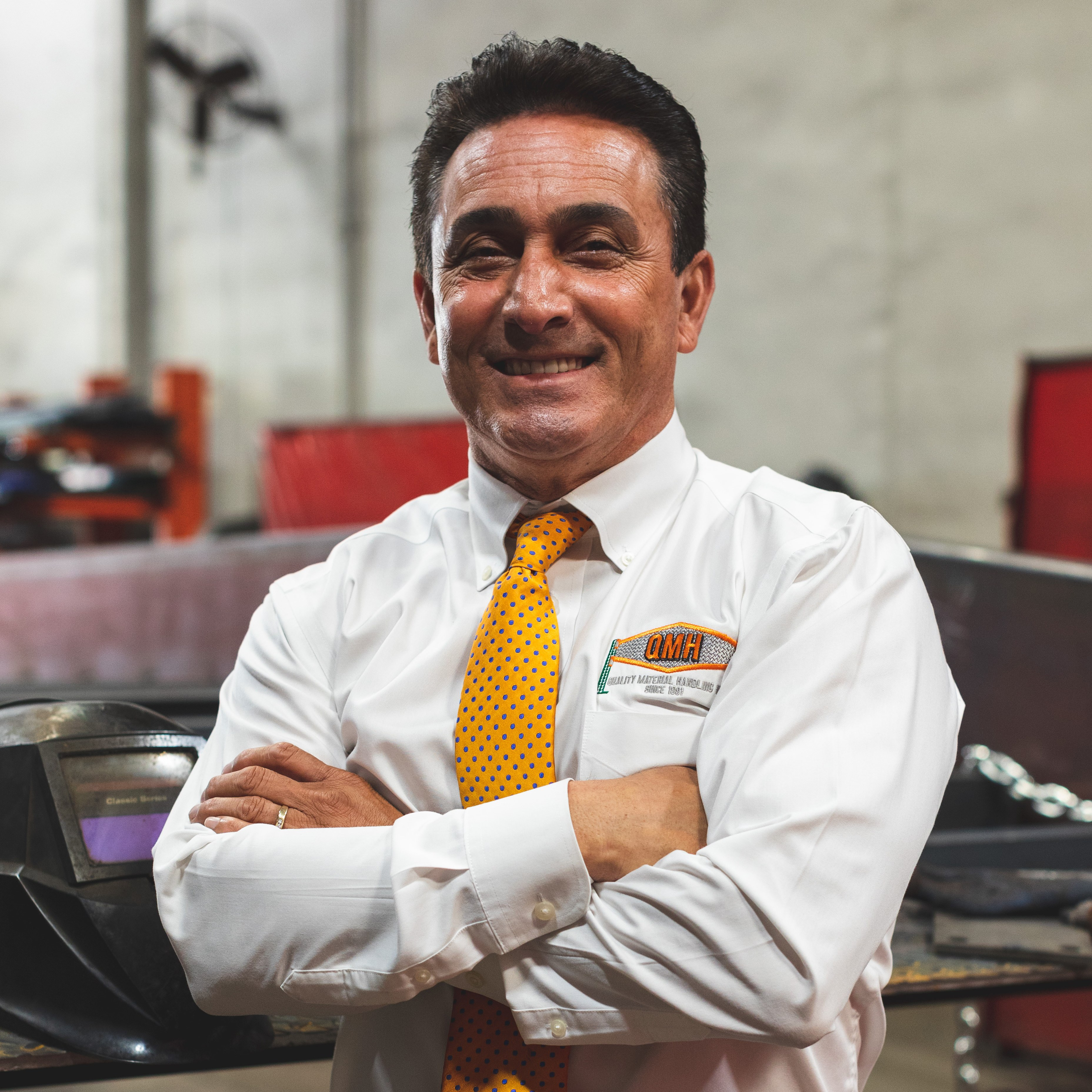 Hector Pinto, CEO and co-Founder at Quality Material Handling, Inc.