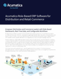 Best ERP Software for Wholesale Distribution and Retail-Commerce