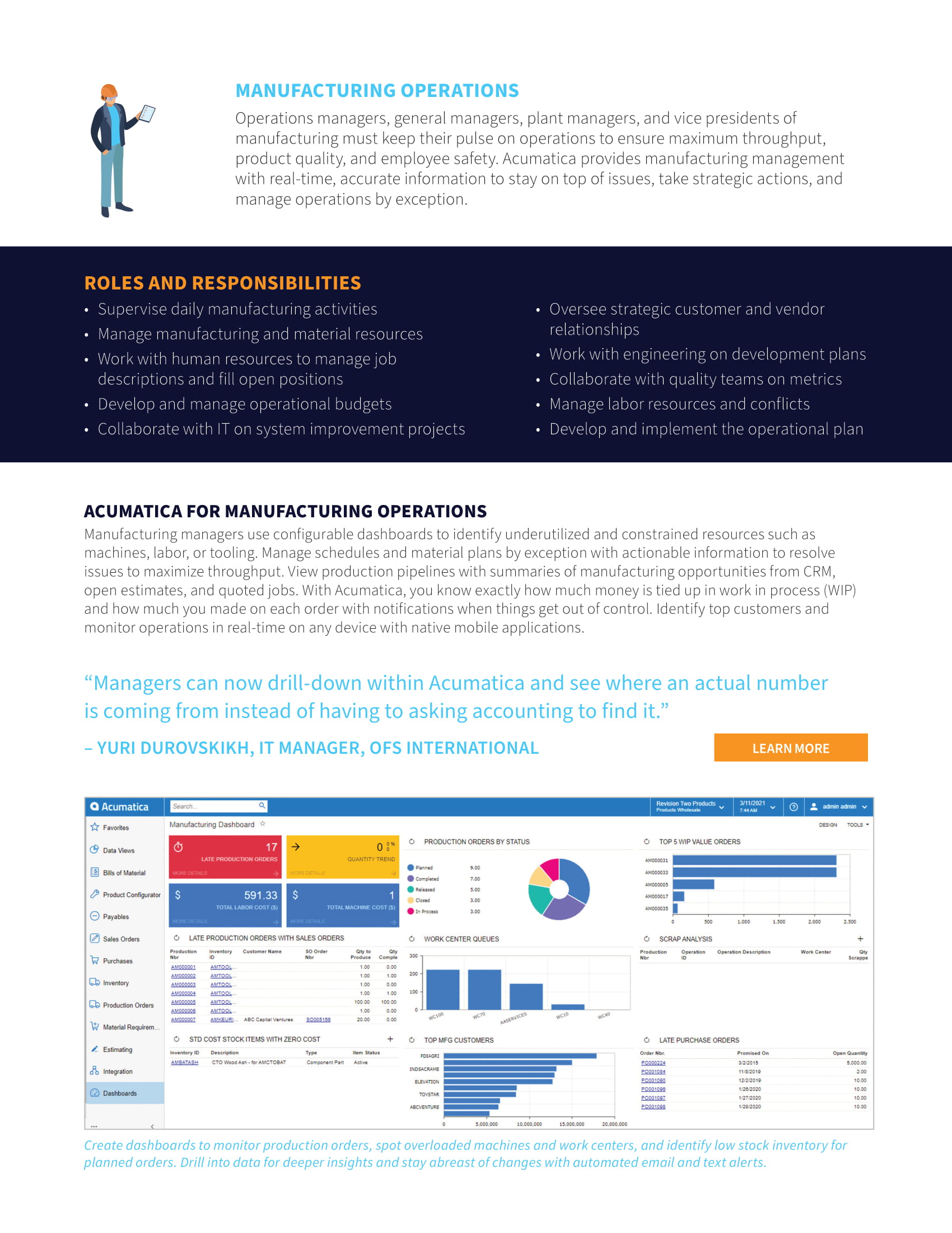 Monitor Your Business Health with Manufacturing ERP Roles, page 2