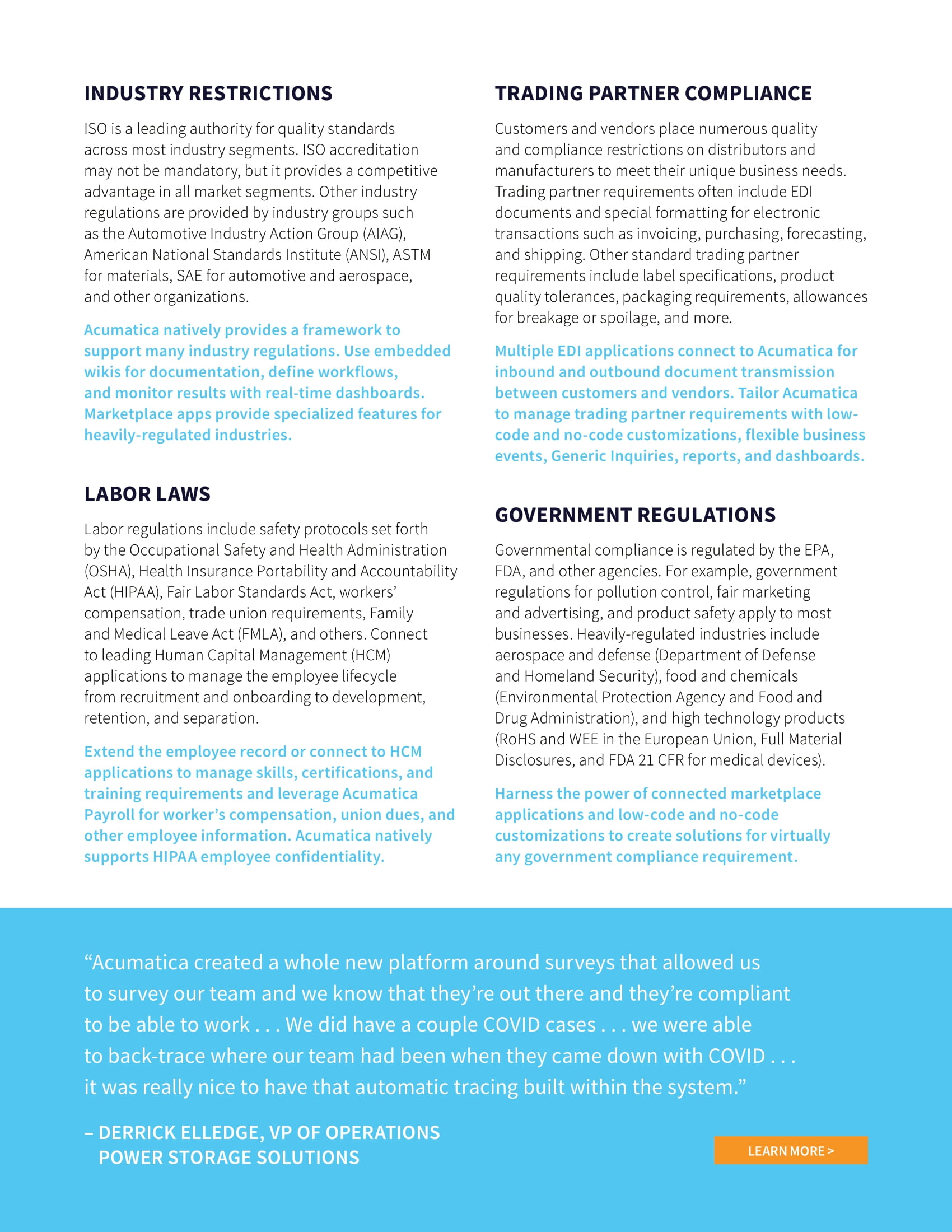 Quality Compliance Software Made Simple, page 2
