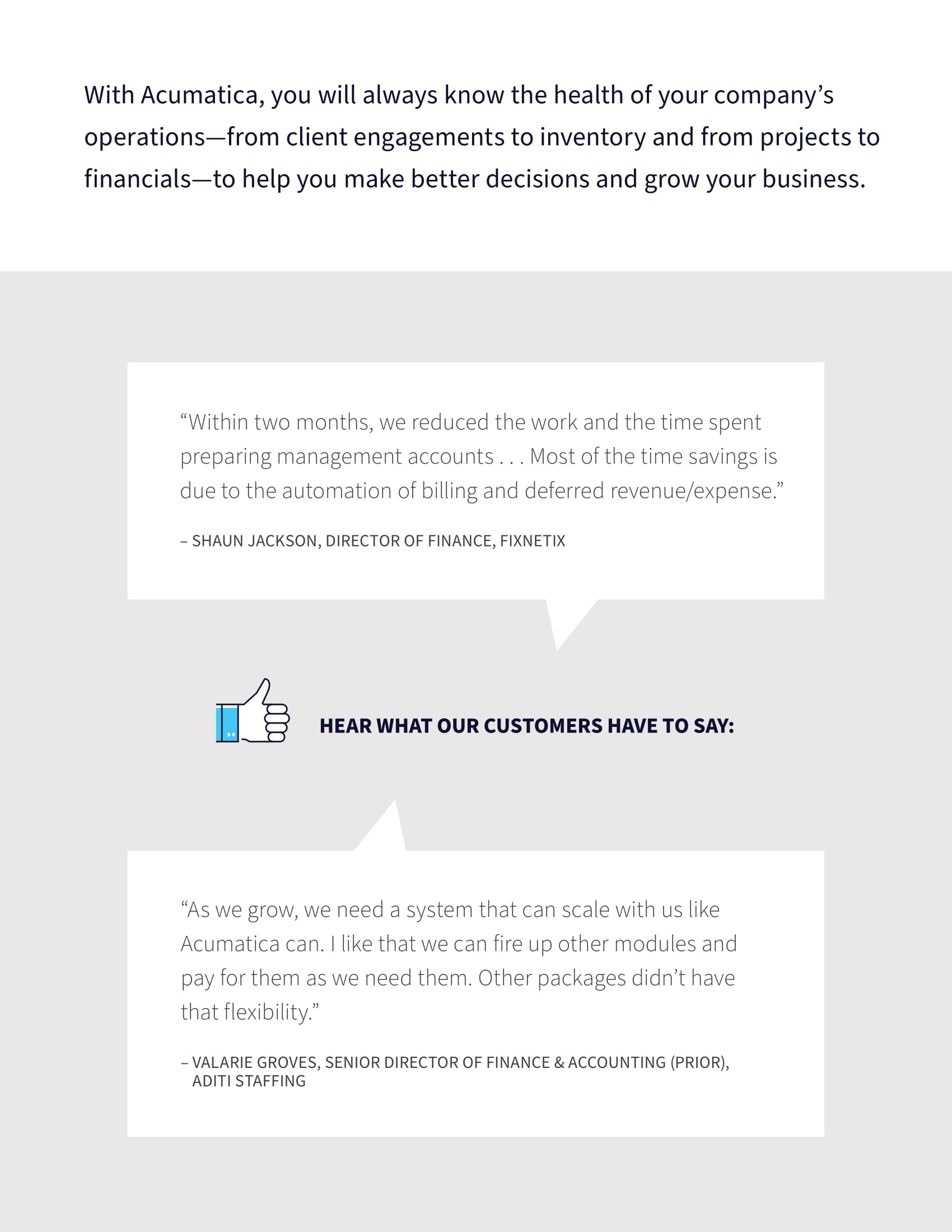 How to Grow Your Business Faster with Cloud ERP, page 2