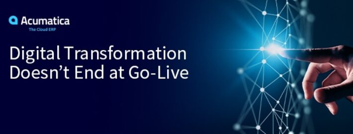 Digital Transformation Doesn't End at Go-Live