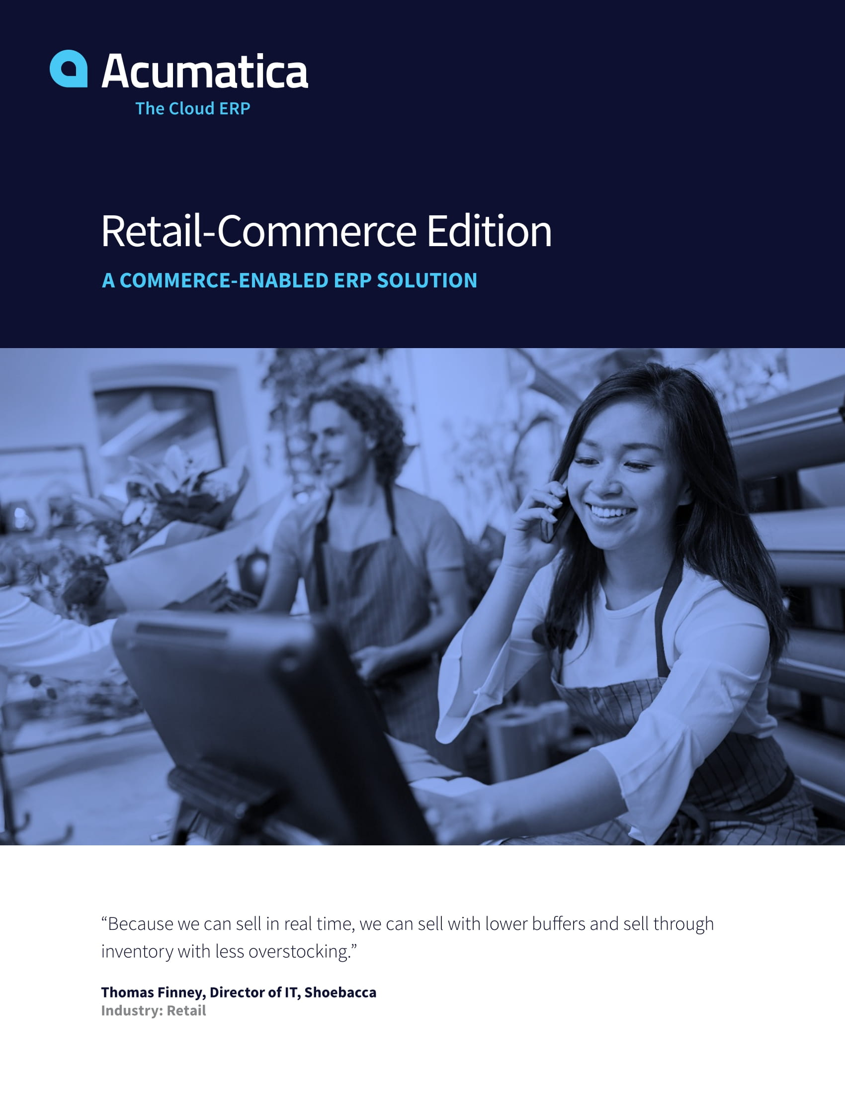 Choose an Commerce-Enabled ERP That Supports Your Whole Business